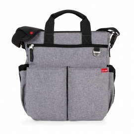SKIP HOP | Mala Maternidade Duo Signature Heather Gray