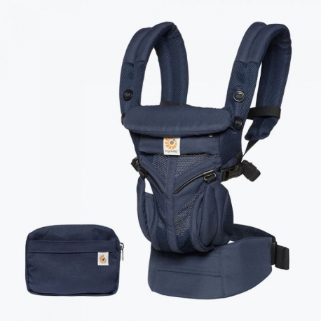 ERGOBABY |  Mochila Porta Bebé OMNI 360 Cool Air Mesh Midnight Blue