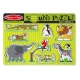 MELISSA & DOUG | Puzzle Sonóro Animais do Zoo