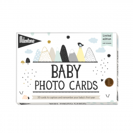 MILESTONE CARDS  |  Baby's First Year - Over The Moon